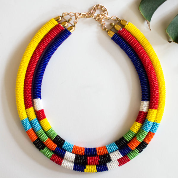 Laika Collar Necklace - Mix