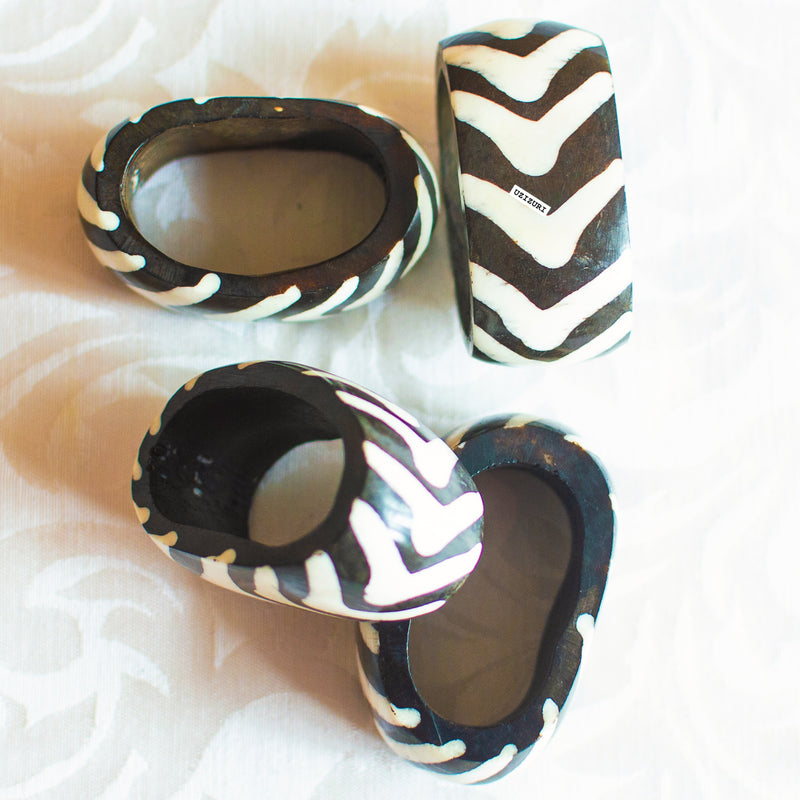 Batik Napkin Ring Set