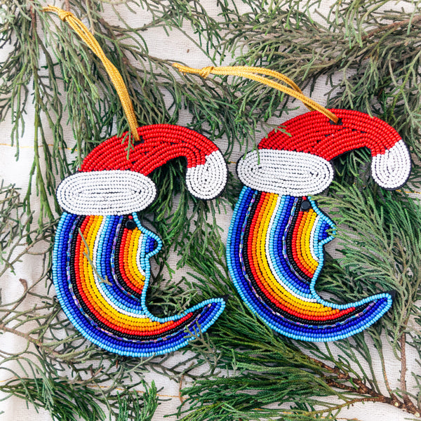 Crescent Moon Ornament