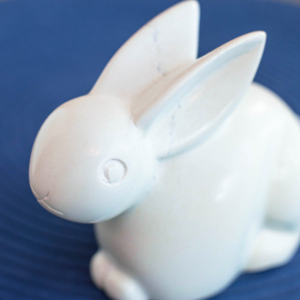 Soapstone Rabbit Sculpture