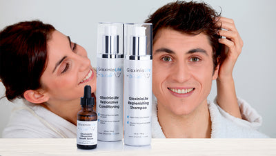 Natural Hair Loss Treatment- For Men and Women- Prevents Loss and Stimulates Regrowth for Healthier Looking and Thicker Hair