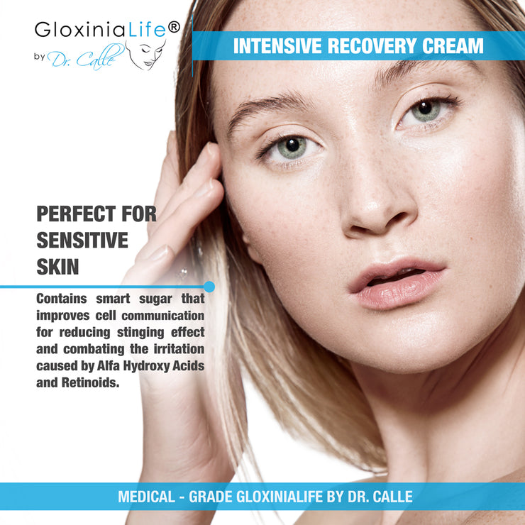 GloxiniaLife ® by Dr. Calle ® Intensive Recovery Cream- Moisturizer for Dry, Oily and irritated Skin-Moisturizers-Gloxinialife