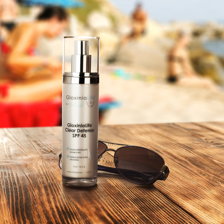 GloxiniaLife by Dr. Calle Clear Defense SPF 45- Oil-Free Facial Sunscreen for Acne Prone Skin-Sunscreens-Gloxinialife