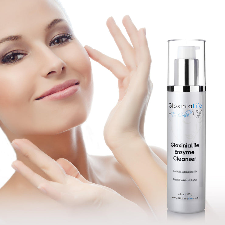 GloxiniaLife ® by Dr. Calle ® Enzyme Cleanser- Face Cleanser for Acne, Oily, and Dry Skin-Cleansers & Toners-Gloxinialife