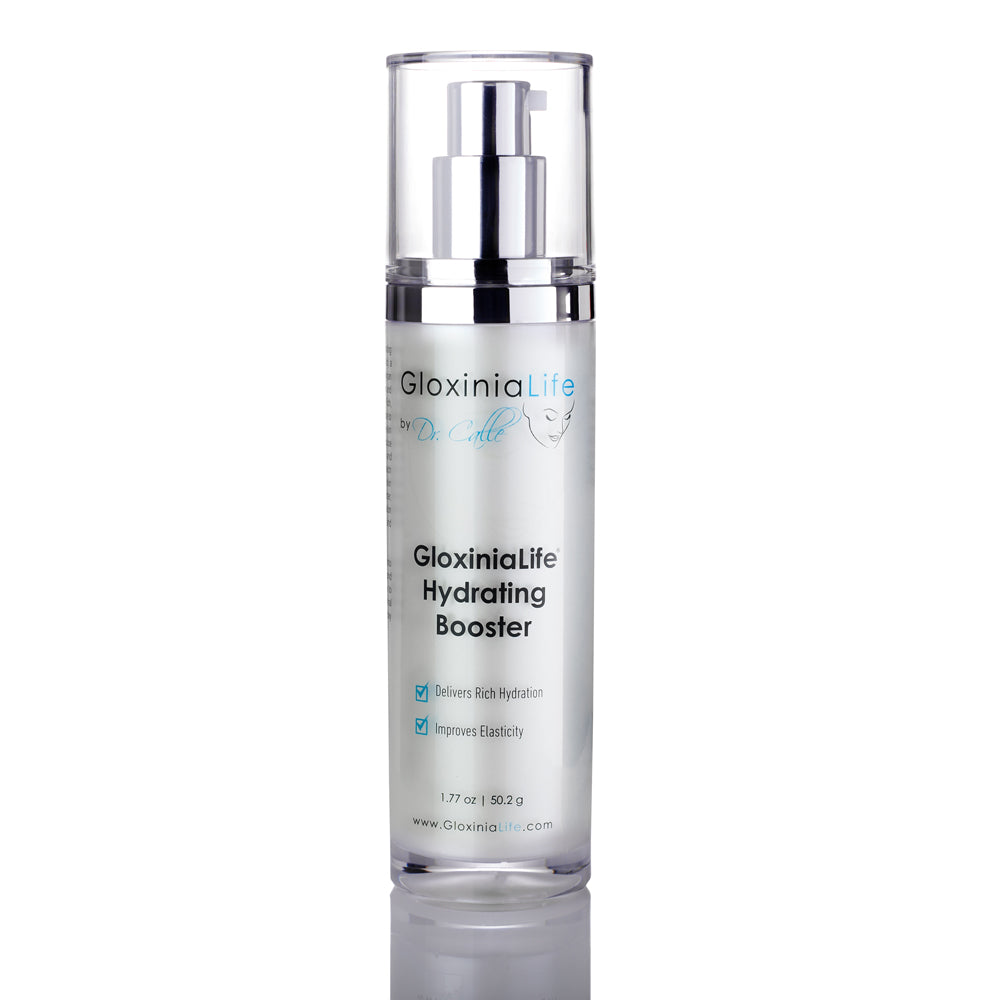GloxiniaLife by Dr. Calle Hydrating Booster- Moisturizer with Hyaluronic Acid- For Acne, Aging Skin