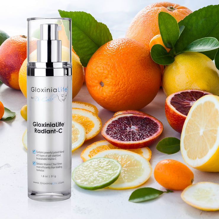GloxiniaLife by Dr. Calle Radiant-C Cream- Vitamin C Enriched Cream, Anti-Aging & Skin Lightener-Skin Lightener-Gloxinialife