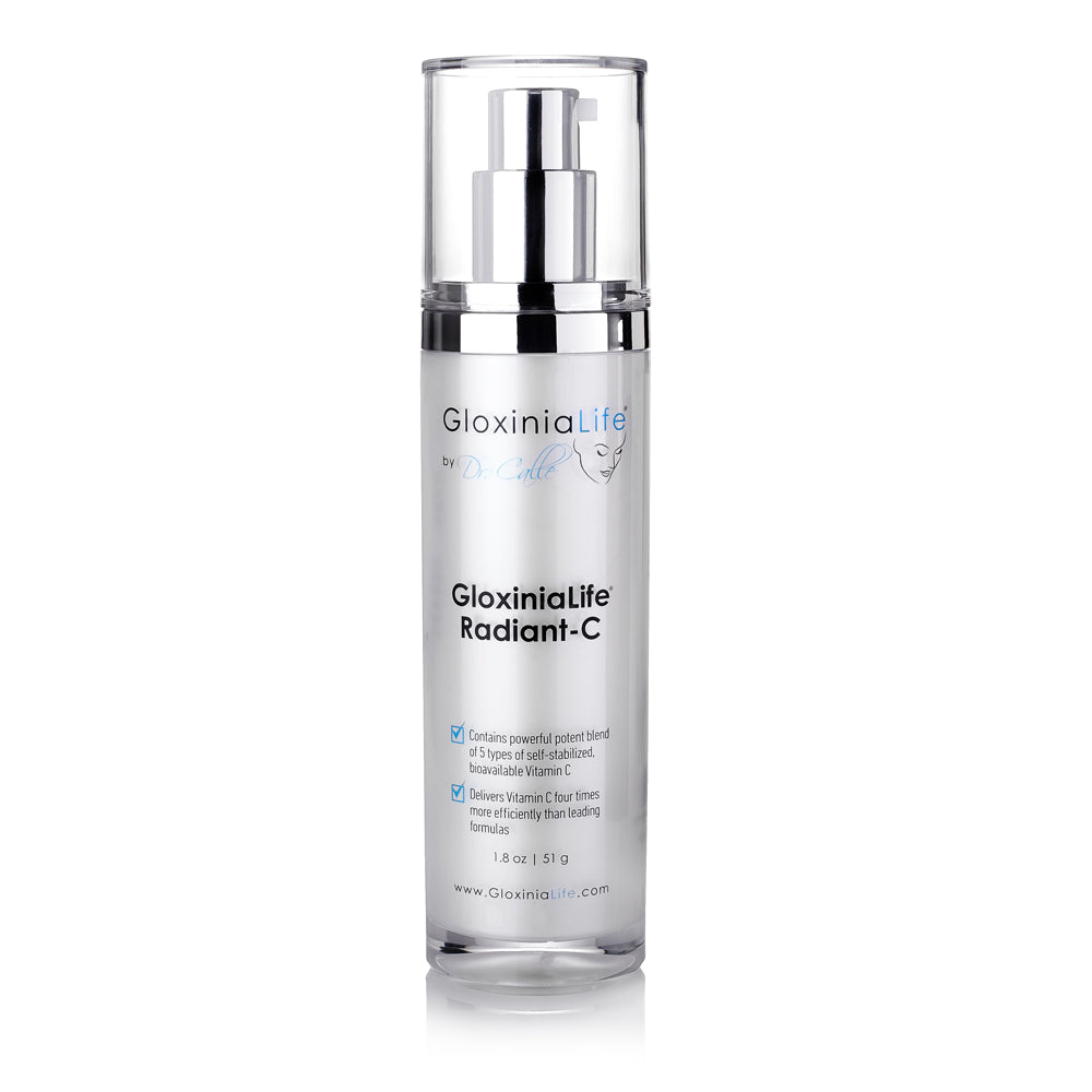 GloxiniaLife ® by Dr. Calle ® Radiant-C Cream- Vitamin C Enriched Cream, Anti-Aging & Skin Lightener
