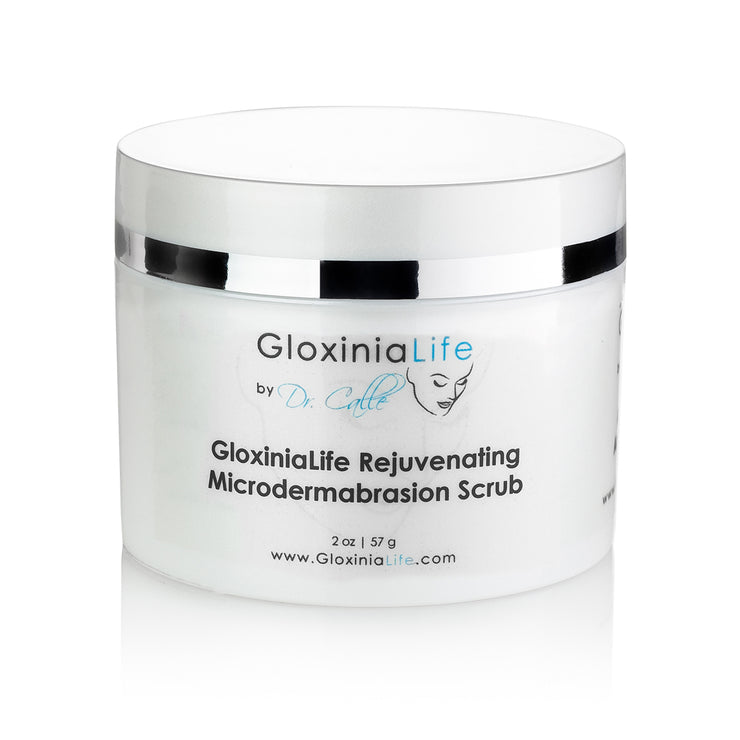 GloxiniaLife ® by Dr. Calle ® Rejuvenating Microdermabrasion Scrub- Acne, Acne Scar Treatment & Blackhead Remover-Acne Solutions-Gloxinialife