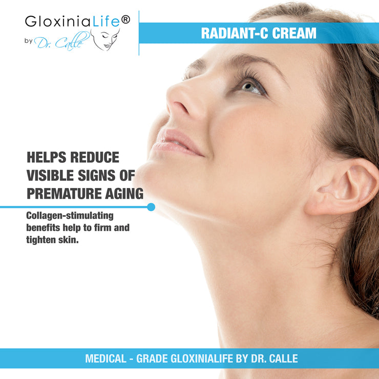 GloxiniaLife ® by Dr. Calle ® Radiant-C Cream- Vitamin C Enriched Cream, Anti-Aging & Skin Lightener-Skin Lightener-Gloxinialife
