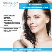 GloxiniaLife Rejuvenating Microdermabrasion Scrub- Acne, Acne Scar Treatment & Blackhead Remover-Acne Solutions-Gloxinialife