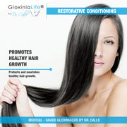 GloxiniaLife ® by Dr. Calle ® Restorative Conditioning- Hair Loss Improvement- Natural Conditioner-Hair Loss-Gloxinialife