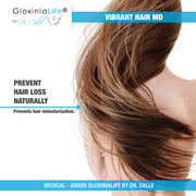 GloxiniaLife by Dr. Calle Vibrant Hair MD- Natural Hair Loss Treatment- For Healthier Thicker Hair-Hair Loss-Gloxinialife