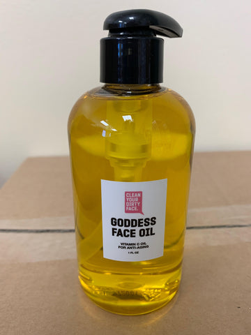 Goddess Face Oil (8 oz backbar)