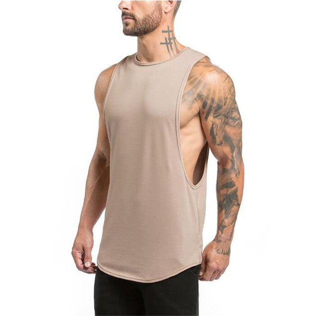Men Fitness Singlet - Don't Sit Stay Fit