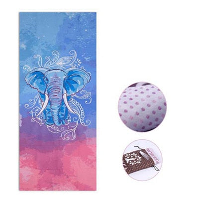 Printed Yoga Mat - Don't Sit Stay Fit
