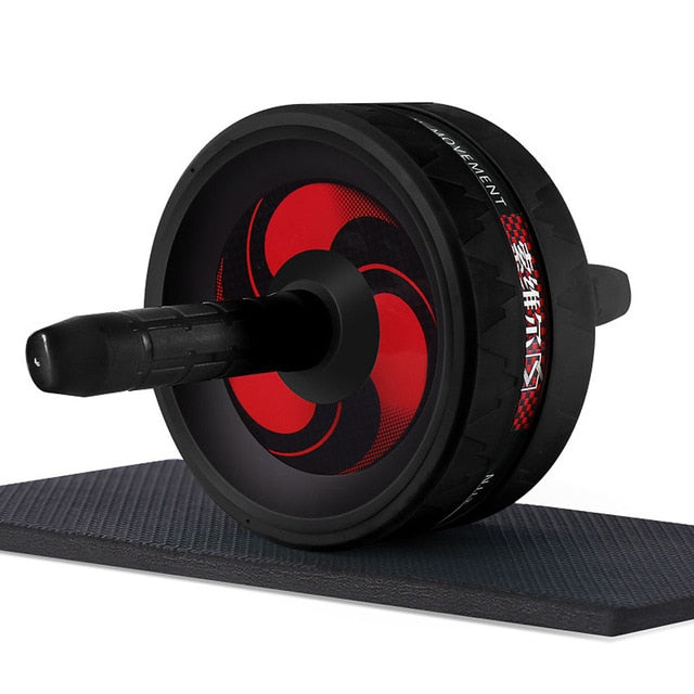 No Noise Abdominal Wheel - Don't Sit Stay Fit