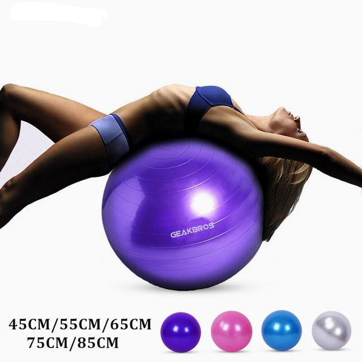 Yoga Stability Ball - Don't Sit Stay Fit