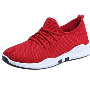 Lace-up Running Sneakers - Don't Sit Stay Fit