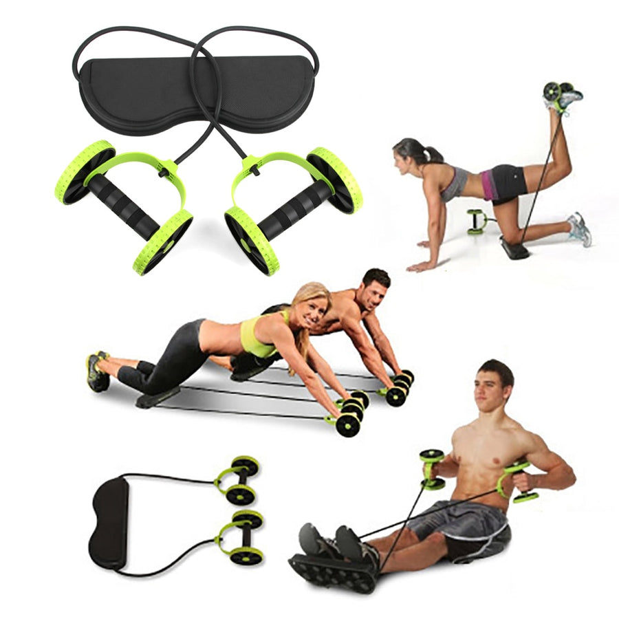 Abdominal Wheel with Mat - Don't Sit Stay Fit