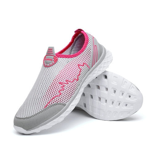 Light Mesh Athletic  Shoes - Don't Sit Stay Fit