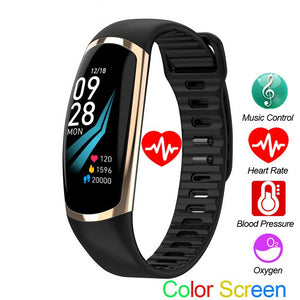 Android IOS Heart Rate Sleep Monitor  Fitness Tracker - Don't Sit Stay Fit