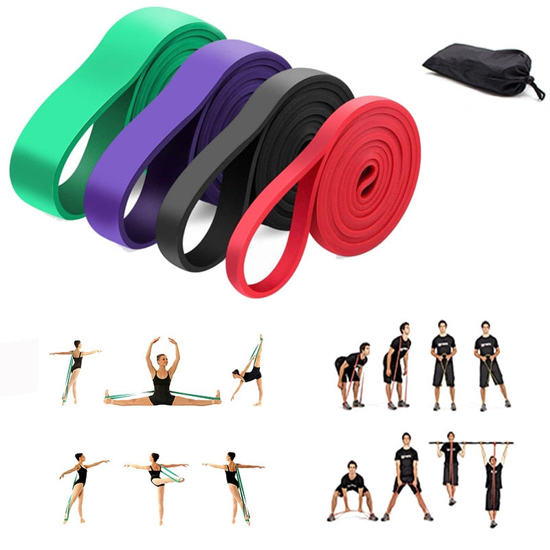 6 Level Yoga Bands for Stretching - Don't Sit Stay Fit