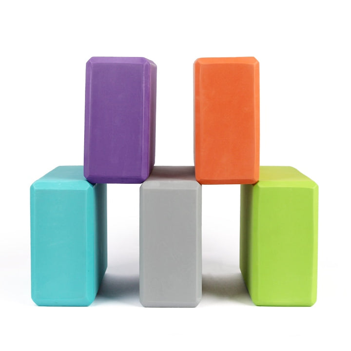 EVA Yoga Colorful Foam Block - Don't Sit Stay Fit
