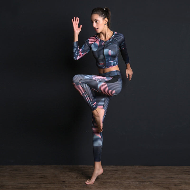 Breathable Yoga Set - Don't Sit Stay Fit