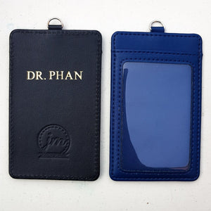Smooth Leather ID Card Holder