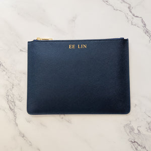 The Standard Pouch (Saffiano Leather)