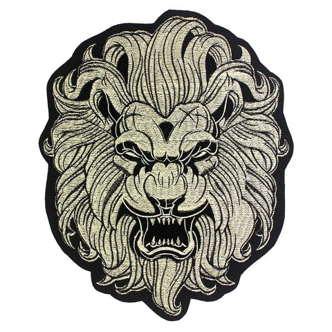 Patch Lion Guerrier