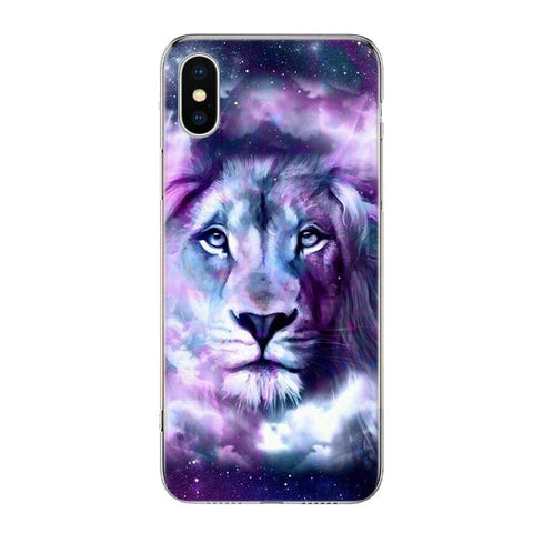 Coque Iphone Lion Divinite