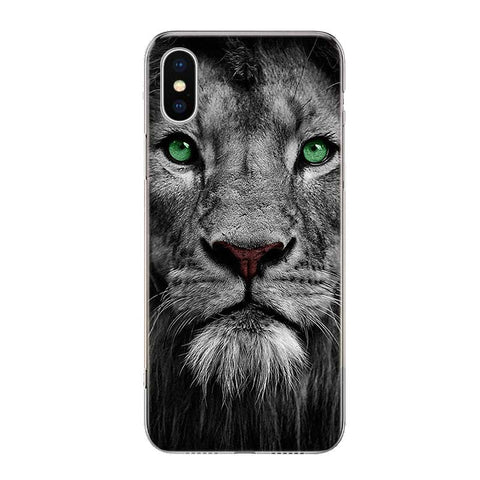 Coque Iphone Lion Esprit Felin