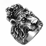 Bague Tete de Lion Grand Duc