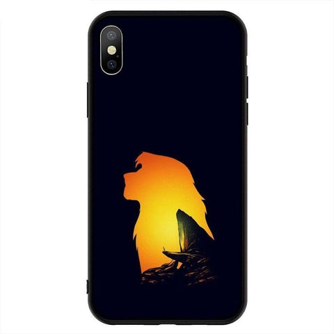 Coque iPhone Roi Lion Futur Roi