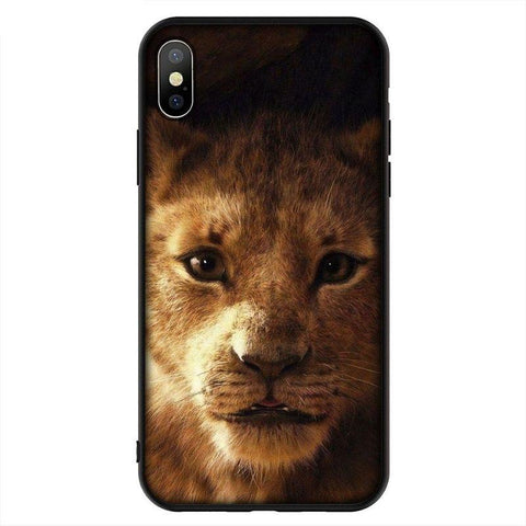 Coque iPhone Roi Lion Visage de Simba