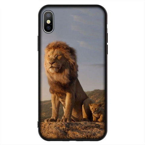 Coque iPhone Le Roi Lion