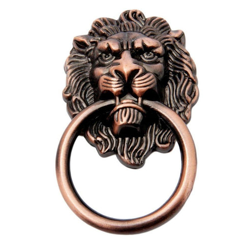 Heurtoir Lion Bronze Antique