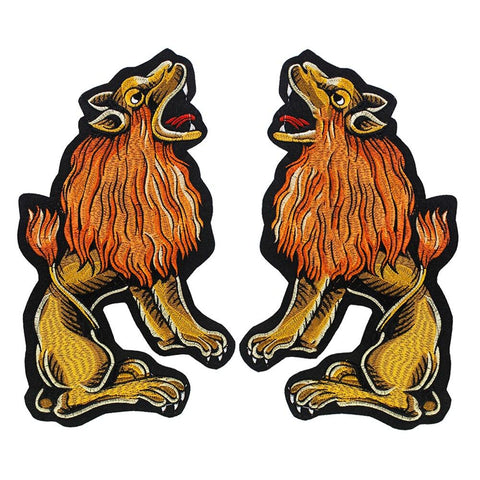 Patch Lion Jumeaux