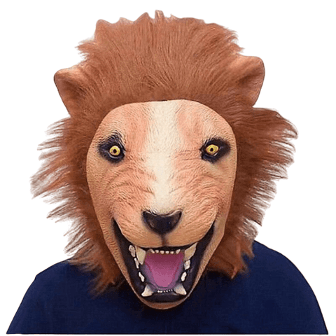 Masque Lion Folie Bestiale
