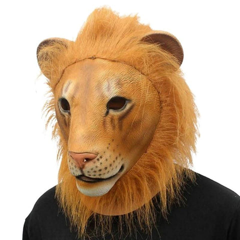 Masque Lion Savane