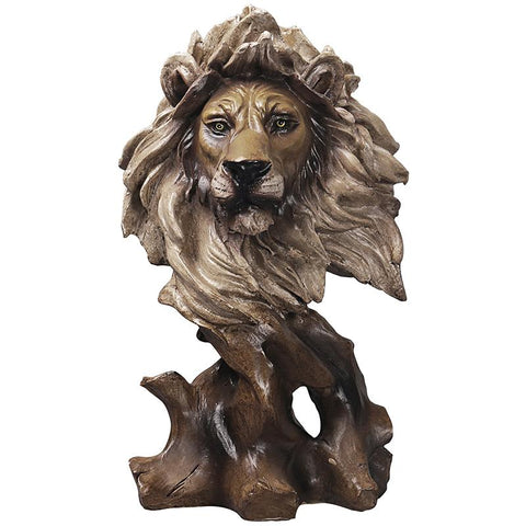 Statue Lion Portrait