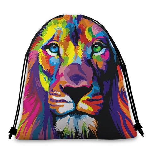 Sac Lion Multicolore