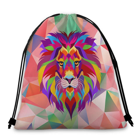Sac Lion mosaique