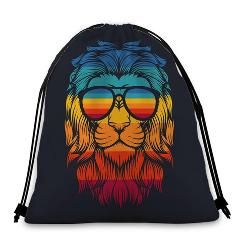 Sac Lion retro