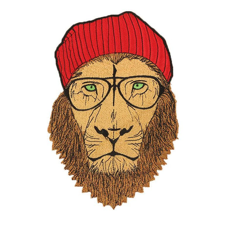 Patch Lion<br> Hippie