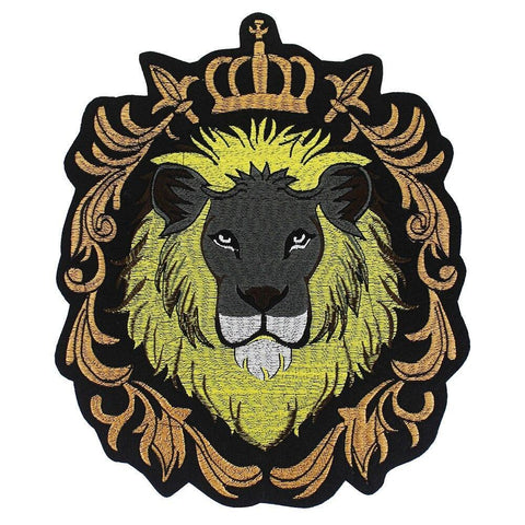 Patch Lion Roi de la Savane
