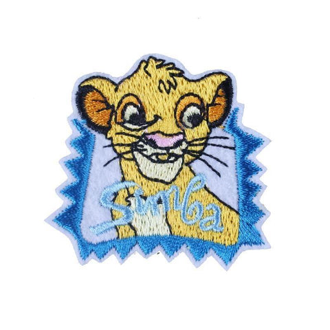 patch lion simba jeune