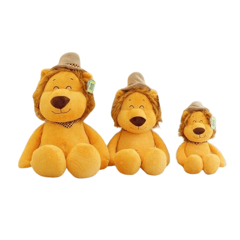 peluche lion couture