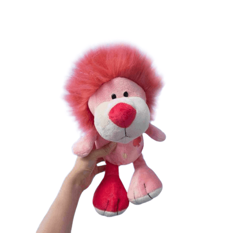 Peluche Lion Rose